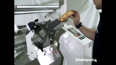 Manual Inclined Wrapping Machine