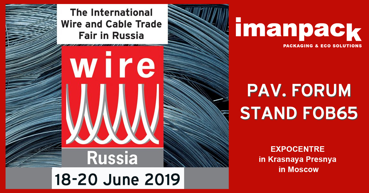 We will attend WIRE RUSSIA 2019  in Moscow STAND FOB65