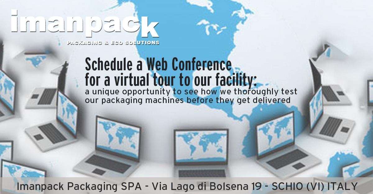 Schedule a WEB CONFERENCE for a VIRTUAL TOUR to our FACILITY