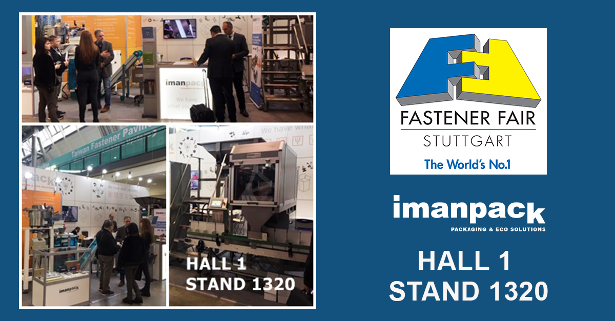 Make the most of this opportunity to visit us at Fastener Fair Stuttgart 2019