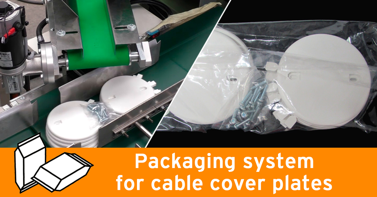 Video - Cable cover plates packaging