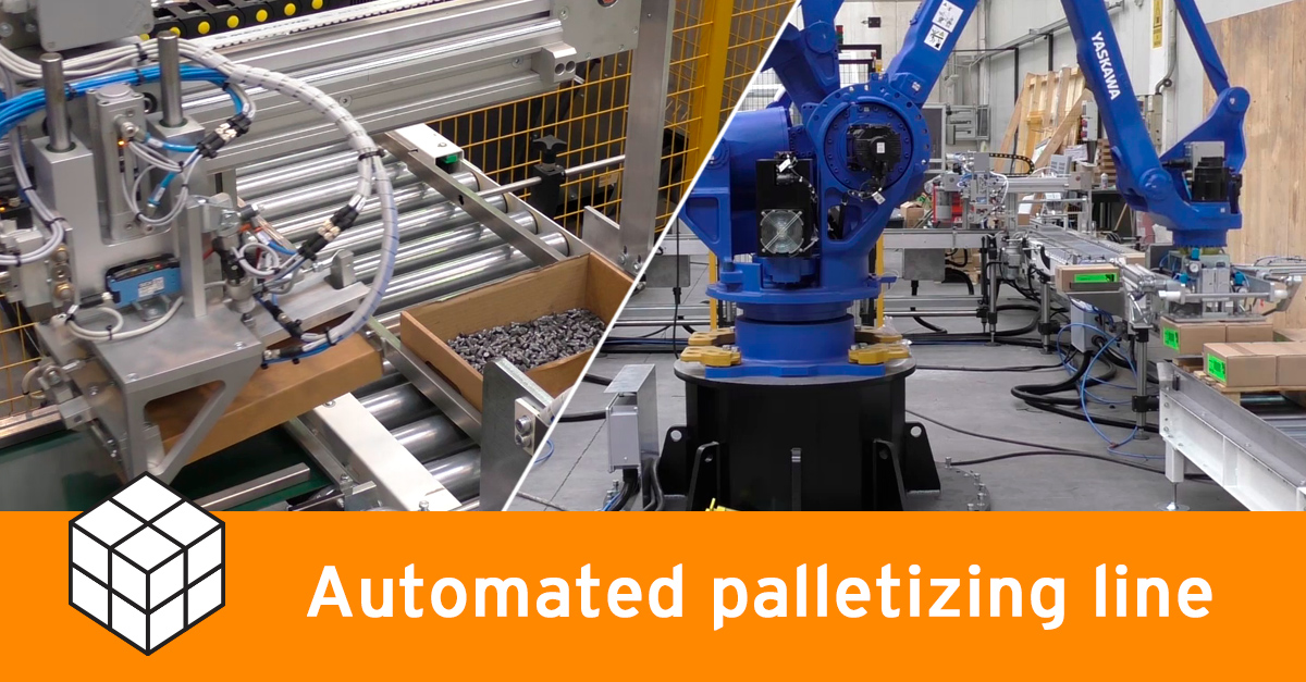 Video - Palletizing line for screws