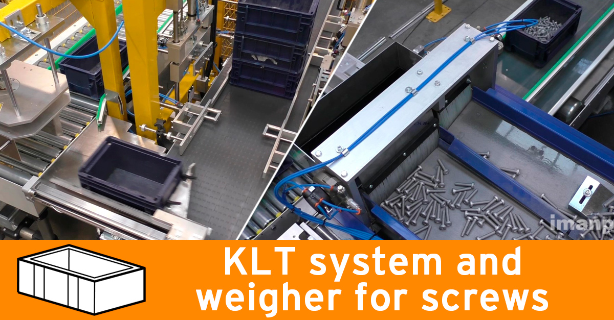 Video - System for screws in KLT