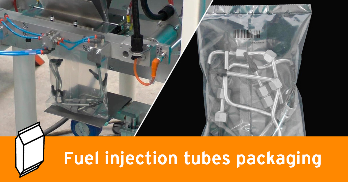 Video - Fuel injector pipes packaging
