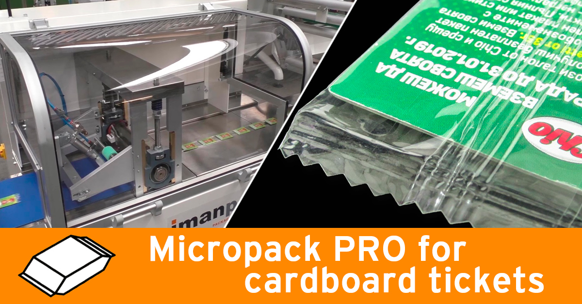 Video - Micropack PRO with high speed leaflet feeder