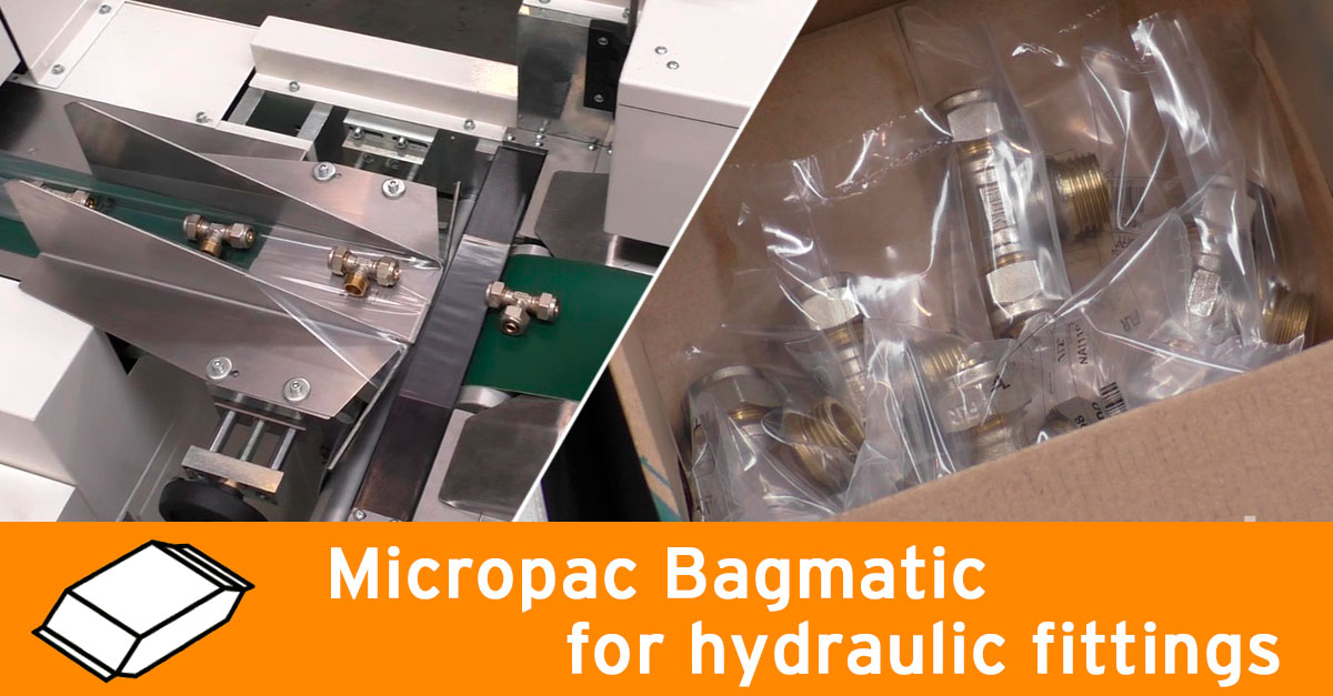 Micropac Bagmatic for hydraulic fittings