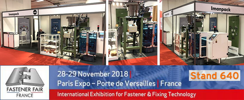 Fastener Fairs France takes place on 28-29 November 2018 in Paris