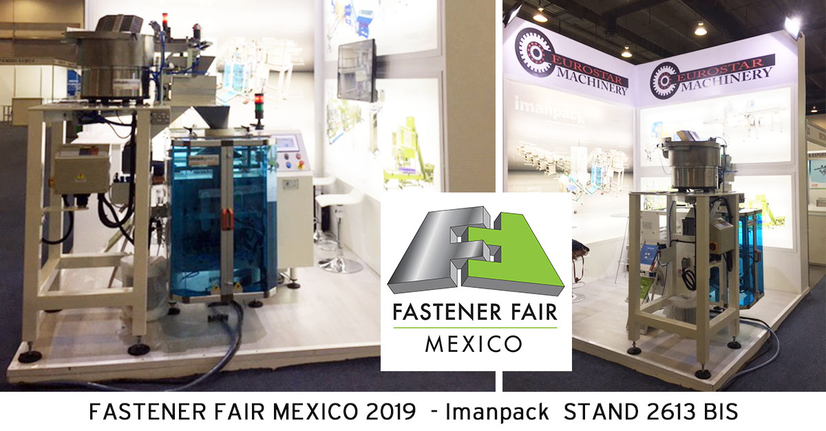 We look forward to seeing you in Mexico City at the Fastener Fair Mexico 2019