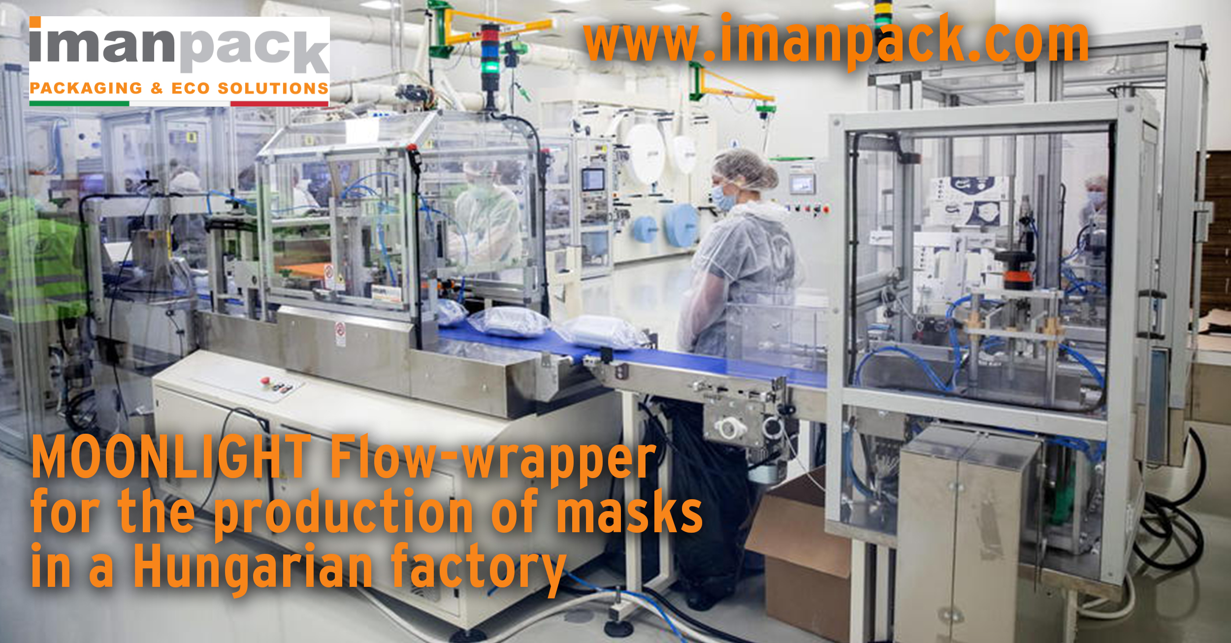 ASSOCIATED NATIONAL PRESS AGENCY - ANSA - talks about Imanpack packaging machines