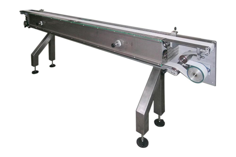 Equaliser conveyor belt